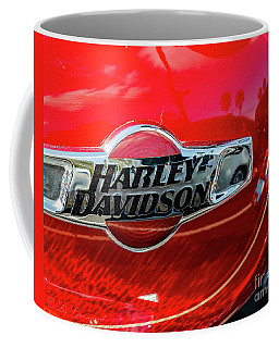 Harley Tank Red Coffee Mug