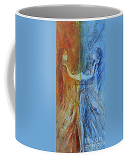 Coffee Mug featuring the painting Harmony by Jane See