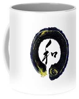 Harmony - Peace With Enso Coffee Mug by Peter v Quenter