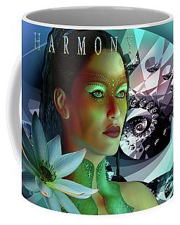 Coffee Mug featuring the digital art Harmony by Shadowlea Is