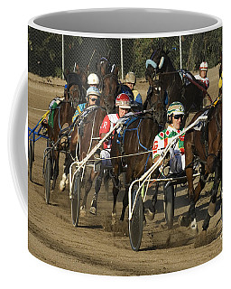 Harness Racing 9 Coffee Mug by Bob Christopher