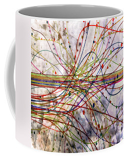 Coffee Mug featuring the digital art Harnessing Energy 1 by Angelina Vick