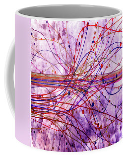 Coffee Mug featuring the digital art Harnessing Energy 2 by Angelina Vick