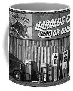 Harold's Club Coffee Mug by Marius Sipa