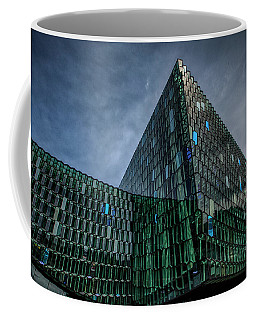 Harpa Coffee Mug by Wade Courtney