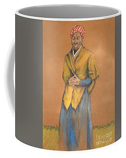 Harriet, Hero -- Portrait Of Harriet Tubman Coffee Mug