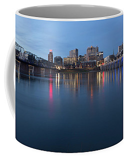 Harrisburg, Pennsylvania Skyline At Night Coffee Mug