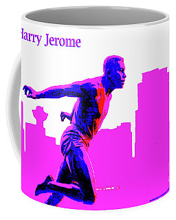 Harry Jerome Statue Stylized Coffee Mug