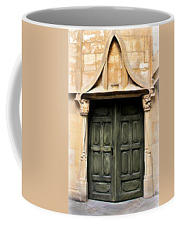 Harry Potter Style Door Coffee Mug by Katie Wing Vigil