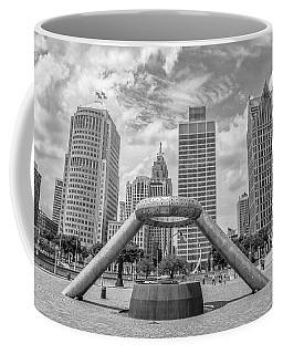 Hart Plaza In Detroit  Coffee Mug