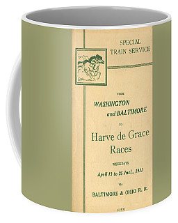 Harve De Grace Races Coffee Mug