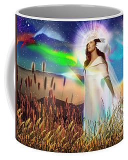 Harvest Bride Coffee Mug by Dolores Develde
