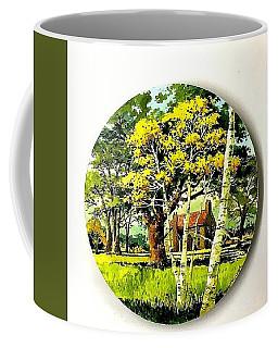 Harvest Moon Landscape Coffee Mug
