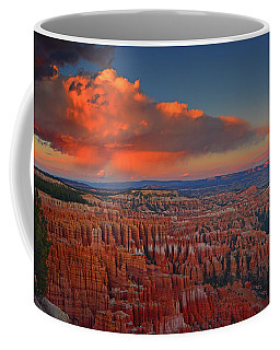 Harvest Moon Over Bryce National Park Coffee Mug