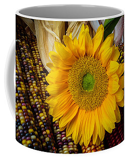 Harvest Sunflower Coffee Mug