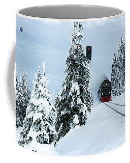 Harz Ballooning And Brocken Railway Coffee Mug