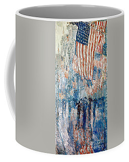 Hassam Avenue In The Rain Coffee Mug