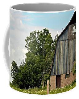 0017 - Hassler Lake Road Horse Barn Coffee Mug