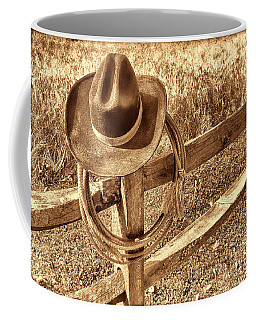 Hat And Lariat Coffee Mug