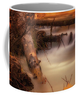Hat Creek In Gold Coffee Mug