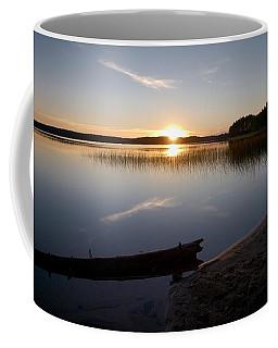 Coffee Mug featuring the photograph Haukkajarvi Evening by Jouko Lehto
