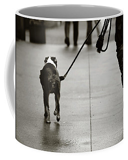 Coffee Mug featuring the photograph Hauling Ass by Empty Wall