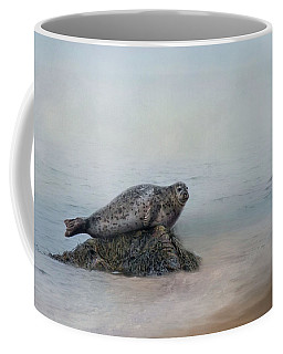 Coffee Mug featuring the photograph Hauling Out by Robin-Lee Vieira
