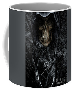 Coffee Mug featuring the photograph Haunted Forest by Al Bourassa