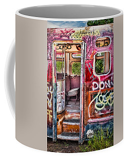 Haunted Graffiti Art Bus Coffee Mug
