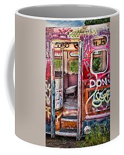 Haunted Graffiti Art Bus Coffee Mug