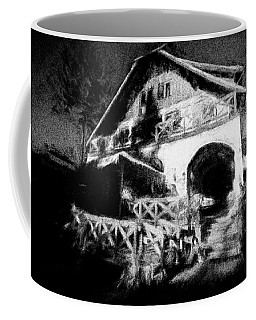 Haunted House Coffee Mug by Celso Bressan