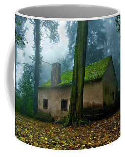Coffee Mug featuring the photograph Haunted House by Jorge Maia