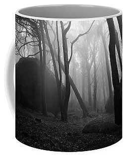 Coffee Mug featuring the photograph Haunted Woods by Jorge Maia