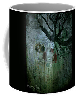 Coffee Mug featuring the digital art Haunting by Delight Worthyn