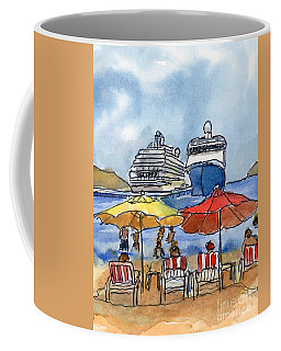 Hautuco Dock Coffee Mug
