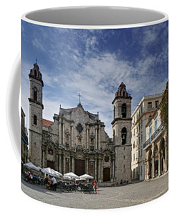 Havana Cathedral. Cuba Coffee Mug