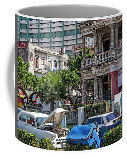 Coffee Mug featuring the photograph Havana Cuba by Charles Harden