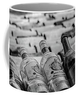 Havana Rum Bottles Coffee Mug by David Warrington