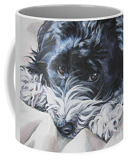 Havanese Black And White Coffee Mug