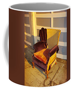 Coffee Mug featuring the photograph Have A Seat In Dore Alley by Mr Photojimsf