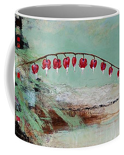 Coffee Mug featuring the painting Have We Become Comfortably Numb by Frances Marino