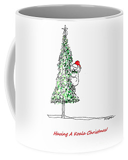 Having A Koala Christmas Coffee Mug