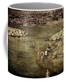 Having A Swim In Naples Coffee Mug