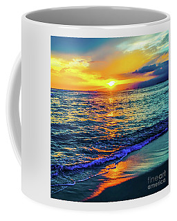 Coffee Mug featuring the photograph Hawaii Beach Sunset 149 by D Davila