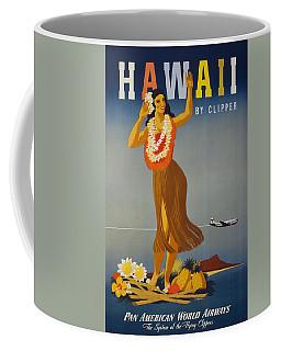 Hawaii By Clipper Coffee Mug