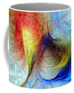 Coffee Mug featuring the digital art Hawaii - Island Of Fire by Rafael Salazar