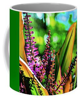 Hawaii Ti Leaf Plant And Flowers Coffee Mug