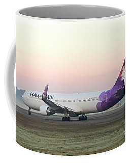 Coffee Mug featuring the digital art  Hawaiian B767 by James Weatherly