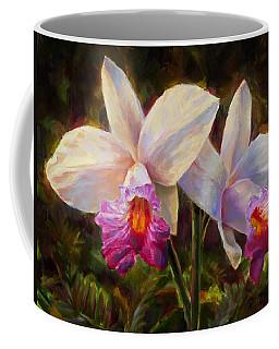Hawaiian Bamboo Orchid Coffee Mug