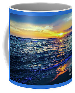 Coffee Mug featuring the photograph Hawaiian Beach Sunset by D Davila